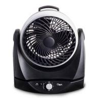 Ozeri® Brezza II 10-Inch Dual Oscillating Desk Fan