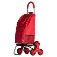 Stair Climber Trolley Dolly 2 Laundry Cart in Red