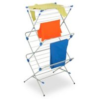 Honey-Can-Do® 3-Tier Mesh Top Drying Rack