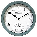 FirsTime® Chatham 10.5-Inch Outdoor Wall Clock