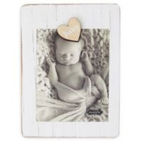 Mud Pie® Baby Clip PIcture Frame in White