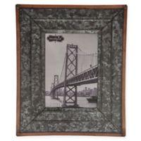 Mud Pie® Rustic Tin Medium Picture Frame