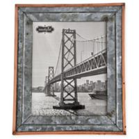 Mud Pie® Rustic Tin Large Picture Frame