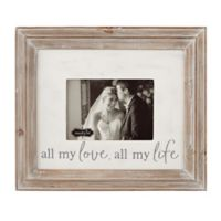 Mud Pie® All My Love All My Life Picture Frame
