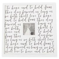 Mud Pie® Wedding Repeat 5-Inch x 5-Inch Picture Frame
