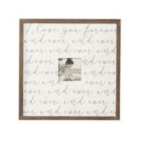 Mud Pie® I Love You 5-Inch x 5-Inch Picture Frame