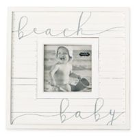 Mud Pie® Beach Baby 3.75-Inch Square Picture Frame