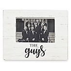 Mud Pie® The Guys Block 4-Inch x 6-Inch Picture Frame