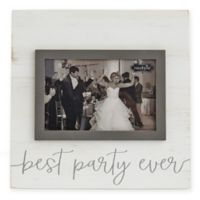 Mud Pie® Best Party Ever Picture Frame