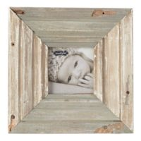 Mud Pie® 4-Inch x 4-Inch Reclaimed Wood Picture Frame