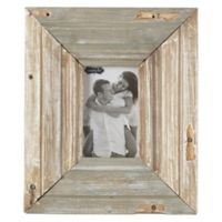 Mud Pie® 4-Inch x 6-Inch Reclaimed Wood Picture Frame