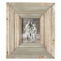Mud Pie® 5-Inch x 7-Inch Reclaimed Wood Picture Frame