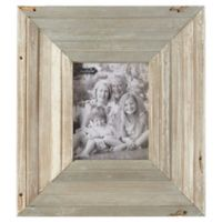 Mud Pie® 8-Inch x 10-Inch Reclaimed Wood Picture Frame