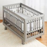 BreathableBaby® 3-Piece Watercolor Safari Crib Bedding Set