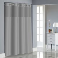 Hookless® Dobby Texture Shower Curtain in Drizzle