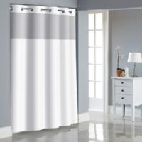 Hookless® Dobby Texture Shower Curtain in Bright White