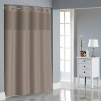 Hookless® Dobby Texture Shower Curtain in Desert Taupe