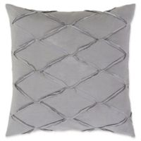 Surya Aiken European Pillow Sham in Grey/Silver