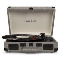 Crosley Cruiser Deluxe Turntable in Black/White