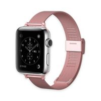 Element Works Apple Watch® 42mm Steel Band in Rose Gold