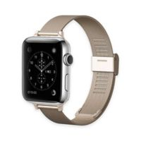 Element Works Apple Watch® 42mm Steel Band in Gold