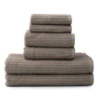 Dri-Soft Plus 6-Piece Towel Set in Sand