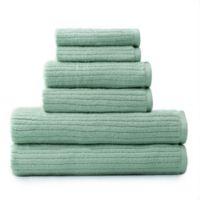 Dri-Soft Plus 6-Piece Towel Set in Sea Glass