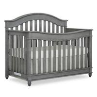 evolur™ Hampton 5-in-1 Convertible Crib in Storm Grey