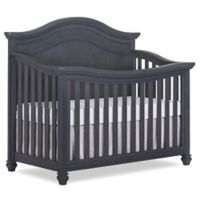 evolur™ Madison Curved Top 5-in-1 Convertible Crib in Weathered Grey