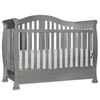 Dream On Me Addison 5-in-1 Convertible Crib in Steel Grey