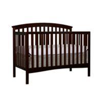 Dream On Me Eden 5-in-1 Convertible Crib in Espresso