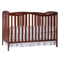 Dream On Me Chelsea 5-in-1 Convertible Crib in Espresso