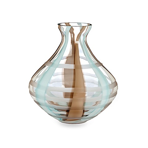 Evolution By Waterford Espresso Swirl 9 Inch Crystal Vase Bed