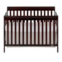 Dream On Me Ashton 4-in-1 Convertible Crib in Espresso