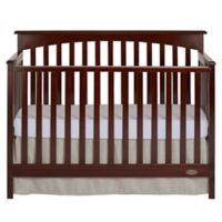 Dream On Me Davenport 5-in-1 Convertible Crib in Mocha