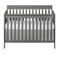 Dream On Me Ashton 4-in-1 Convertible Crib in Steel Grey