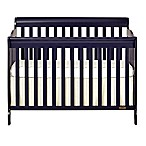 Dream On Me Ashton 4-in-1 Convertible Crib in Navy