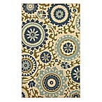 Mohawk Home Savannah 5-Foot x 8-Foot Rug in Blue Multi