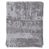Surya Stefan Throw Blanket in Tan/White
