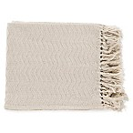 Surya Thelma Throw Blanket in Cream