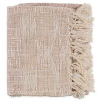Surya Kymani Throw Blanket in Lilac/Cream