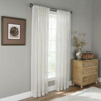 Molly Sheer Linen 108-Inch Rod Pocket Window Curtain Panel