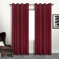 Brighton 84-Inch Grommet Blackout Window Curtain Panel in Brick
