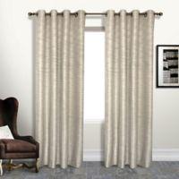Brighton 84-Inch Grommet Blackout Window Curtain Panel in Beige