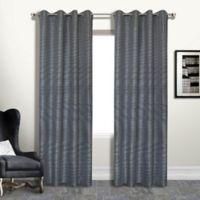 Brighton 95-Inch Grommet Blackout Window Curtain Panel in Platinum