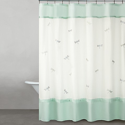 Kate spade new york dragonfly drive 72 x 72 shower for Bed bath and beyond kate spade
