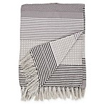Bravo Throw Blanket in Grey