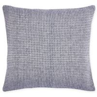 Carol & Frank Langford Square Throw Pillow in Indigo