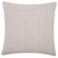 Carol & Frank Langford Square Throw Pillow in Dune
