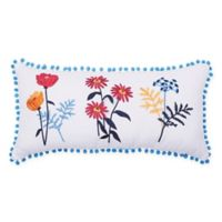 Carol & Frank Lola Oblong Throw Pillow in Blue
